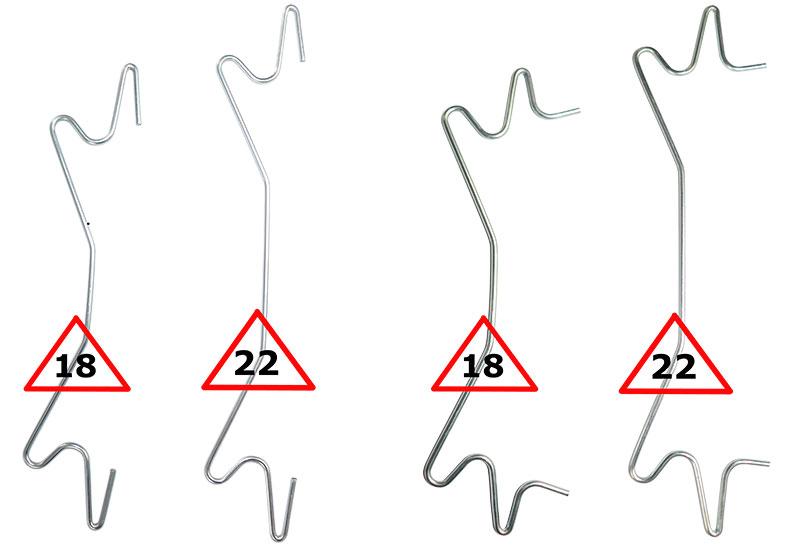 d4b3ea97d29cc Nasza oferta zawiera dwa typy haków oraz dwa rozmiary każdego z nich: